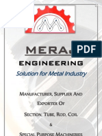 Meraj Engineering - Catalogue