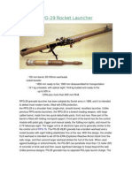 RPG-29 Rocket Launcher