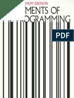 Elements of ML Programming (Ullman)