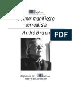 Andre Breton Primer Manifiesto Surrealist A