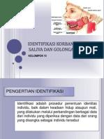 Identifikasi Korban Melalui Saliva Dan Golongan Darah