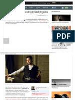 Cinco Consejos de Un Director de Fotografía - ALTFoto