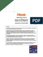 Applications Training for Integrex-100~400MkIII Series Mazatrol Fusion