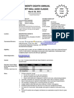 The 28th Liberty Bell Judo Classic Application Form