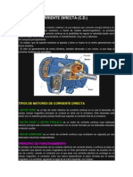 Motor de Corriente Directa (c.d.)