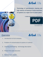 V18_Majka_Technology of Hydrodynamic Cleaning and High Velocity Oil Flushing of Turbo-machinery Oil Systems