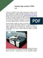 Falla de Mecanismo Tipo Escalera CRS1 Panasonic 5 CD