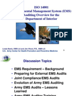 EMS Auditing Overview