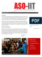 aso alumni newsletter issue 1