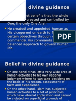 Belief in Divine Guidance