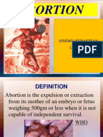 Abortion.ppt for 2nd Msc
