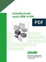 DIN 4109-Sound Insulation
