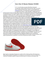 Pas Cher Nike Air Force One 25 Basses Homme UK1865
