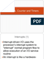 Interrupts and Timers