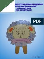 Bahan Kreativitas Sekolah Minggu 18 Januari 2015 PIA Kumetiran