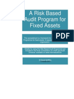 Fixed Assets Audit Programme
