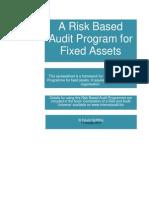 Fixed Assets Audit Programme