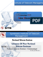 NTS Glimpses, Symbiosis Institute of Telecom Management