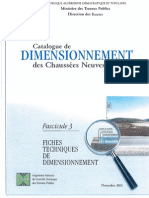 Catalogue de Dimensionnement Des Chaussees Neuves (Fascicule3)