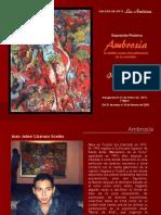 Exposición Pictórica de Jaime Lizarazo en la Galería Las Américas - Lima