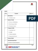Amul Company Report