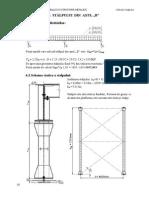 Calculul unui stalp pentru o platforma metalica
