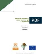 Integración económica y cohesión social