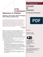 aggression in childhood