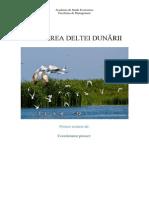 Poluarea Deltei Dunării