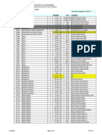 Lista de Horarios 2014 3