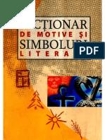 Dictionar de Motive Si Simboluri Literare