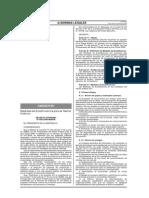 01 - DS 009-2009-MINAM Medidas de Ecoeficiencia Para El Sector Publico