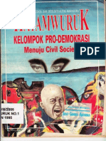 Kelompok Pro-Demokrasi Menuju Civil Society-Hayamwuruk No.1-X-1995