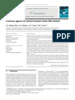 Neto Et Al. [2009] Potential Agents to Control Enamel Caries-like Lesions