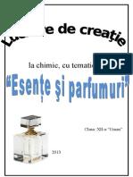 Chimie Esente Si Parfumuri
