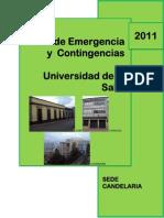 Plan de Emergencias Candelaria