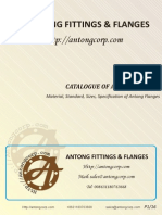 Catalogue of Antong Flange