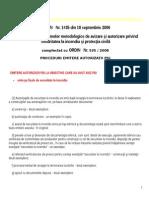 PSI Procedura Emitere Autorizatie O 535_2008