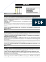 PMP Application Project Calculations