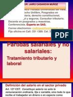 1.Partidas Salariales y No Salariales