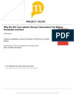 _review Why Do We Care About Literary Characters