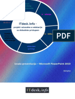 Microsoft PowerPoint 2010 Skripta