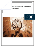 Convergence to Ifrs-libre