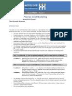 MO14 Debt Modeling