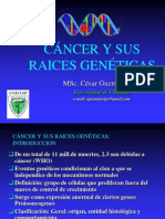 Cancer y Raices Genéticas CLASE 2014