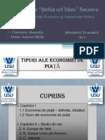 Tipuri Ale Economiei de Piata