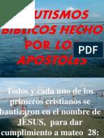 Bautismo Biblico Hecho Por Los Apostoles II