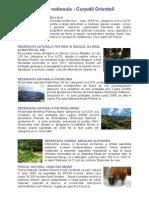 Parcuri Nationale - Carpati Orientali