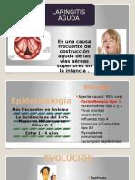 Laringitis Aguda en Pediatria