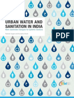 CEEW Veolia Urban Water and Sanitation in India Nov13